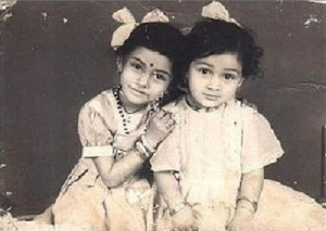 Actress Simran Childhood pictures 1