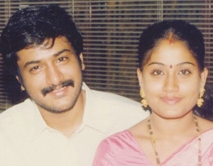 Actress Vijayashanthi husband M. V. Srinivas Prasad
