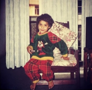 Archana Kavi Childhood pictures 5