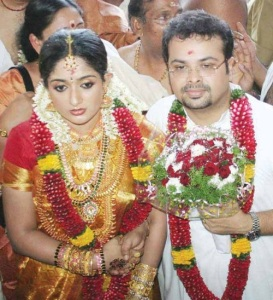 Kavya Madhavan Wedding photos with Nishal Chandra