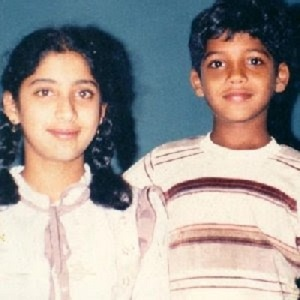 Lakshmi Gopalaswamy Childhood pictures 1