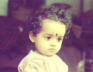 Malayalam actress Bhavana Childhood pictures 2