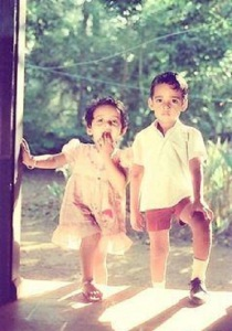 Malayalam actress Bhavana Childhood pictures 9