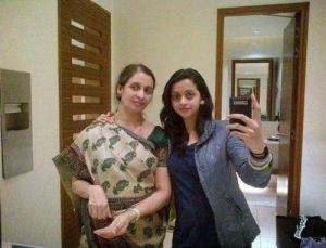 Malayalam actress Bhavana parents mother Pushpa