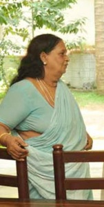 Suresh Gopi parents mother V. Gyanalakshmi