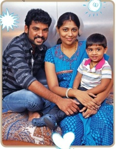 Tamil actor Vimal children son