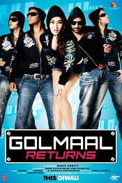 8. Golmaal Returns – 2008