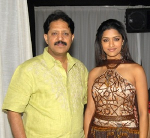 Mamta Mohandas parents father Ambalappat Mohandas