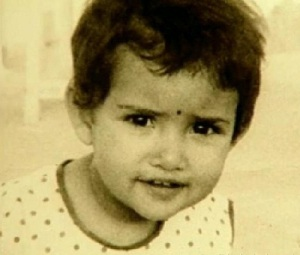 Manisha Koirala Childhood pictures 1