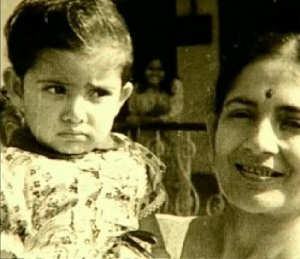 Manisha Koirala Childhood pictures 2