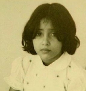 Manisha Koirala Childhood pictures 3