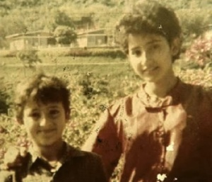 Manisha Koirala Childhood pictures 5