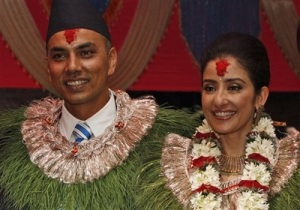 Manisha Koirala wedding Samrat Dahal