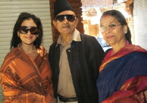 Manisha Koirala parents father Prakash Koirala