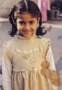 Meera Chopra Childhood pictures 2