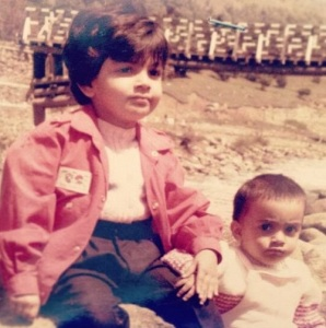 Nisha Agarwal Childhood pictures 1