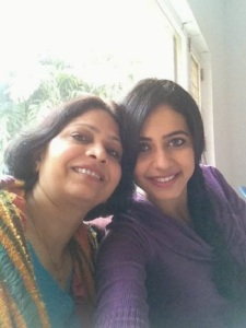 Rakul Preet Singh parents mother Kulwinder Singh