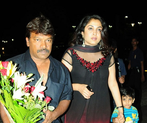 Ramya Krishnan Is Married To Noted Director Krishna Vamsi Since 12th June 2003 The Couple Gave Birth A Son Named Ritwik