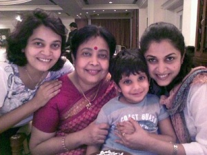 Ramya Krishnan parents mother Maaya