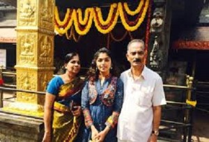 Rima Kallingal parents father Asokan Kallingal and mother