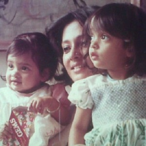 Riya Sen Childhood pictures 2