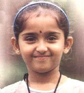Sanusha Santhosh Childhood pictures 2