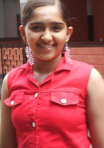Sanusha Santhosh Childhood pictures 6
