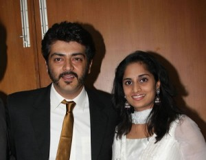 Shalini Kumar husband Ajith Kumar