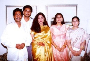Shalini Kumar parents father Babu and mother Alice