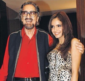 Shazahn Padamsee parents father Alyque Padamsee