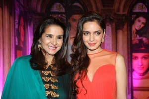 Shazahn Padamsee parents mother Sharon Prabhakar