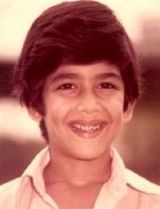 Aftab Shivdasani Childhood pictures 2