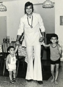Akshaye Khanna Childhood pictures 1