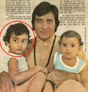 Akshaye Khanna Childhood pictures 2