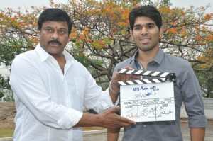 Allu Sirish Uncle Chiranjeevi