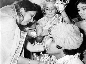 Amitabh Bachchan Wedding photos 4