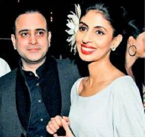 Amitabh Bachchan daughter Shweta Nanda & son in law Nikhil Nanda