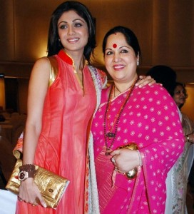 Shilpa Shetty parents mother Sunanda Shetty