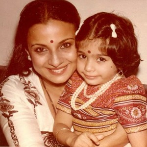 Tanisha Mukherjee Childhood pictures 2