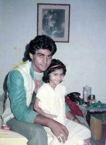 Tanisha Mukherjee Childhood pictures 4