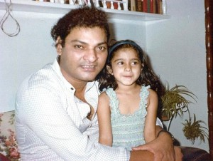 Tanisha Mukherjee Childhood pictures 7