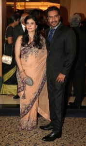 Tanisha Mukherjee elder sister Kajol and brother-in-law Ajay Devgan
