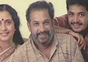 Vinu Mohan parents father Mohan Kumar
