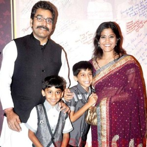 Ashutosh Rana children son Shouryaman  and Satyendra