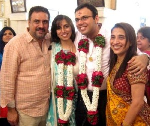 Boman Irani children son Danesh and daughter in law Reah Cama