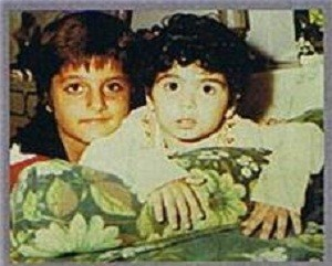 Fardeen Khan Childhood pictures 1