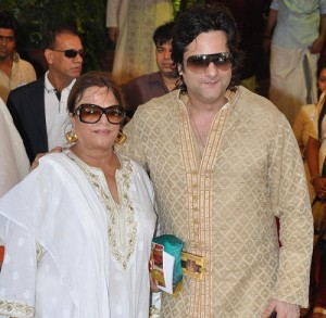 Fardeen Khan Parents mother Sundari khan
