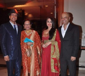 Javed Jaffrey Parents mother Begam Jaffry