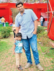 Kunaal Roy Kapur children son Zahaan Roy Kapur