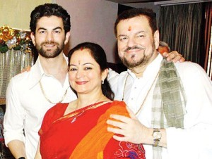 Neil Nitin Mukesh Parents mother Nishi Mukesh